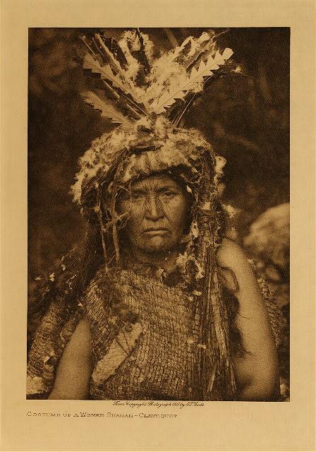Clayoguot Medicine Woman