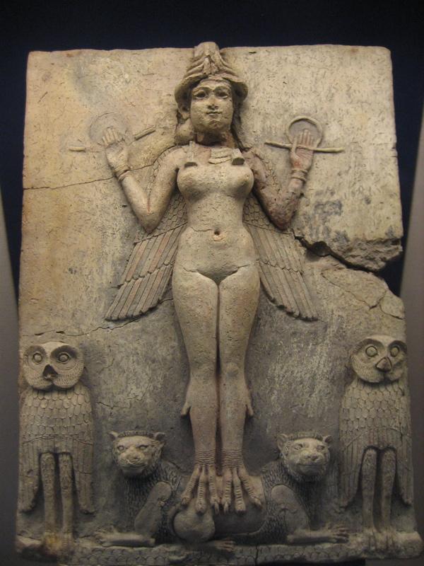 Lilith - Sumerian Stone Relief