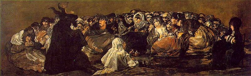 """Lucientes"" by Franisco de Goya"