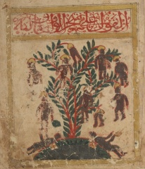 Mythological Waq Waq Tree