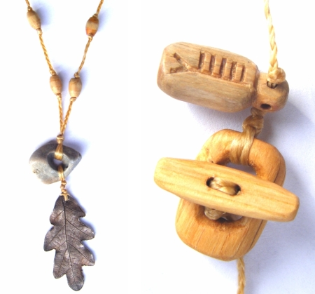 Oak Ash & Thorn Ritual Necklace