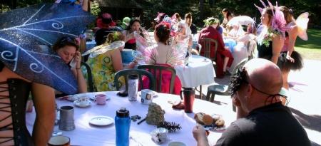 The fairy tea party