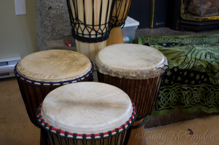 Drums by the hearth