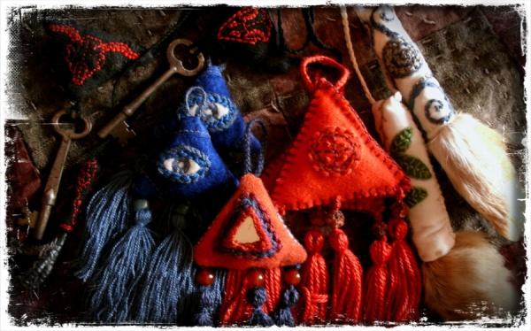 Sacred Textile Talismans