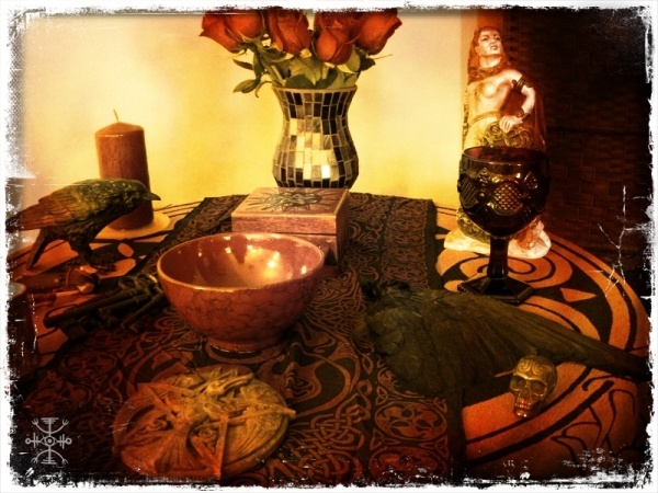Altar to the Morrigan