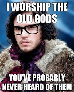 Pagan Hipster Meme